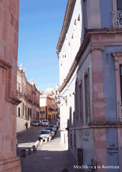 Callejones-zacatecas