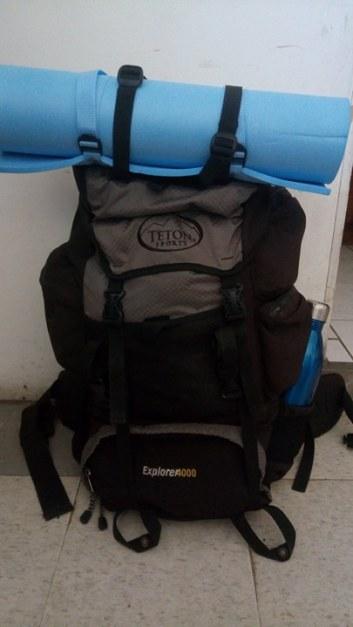 mochila armada para viaje